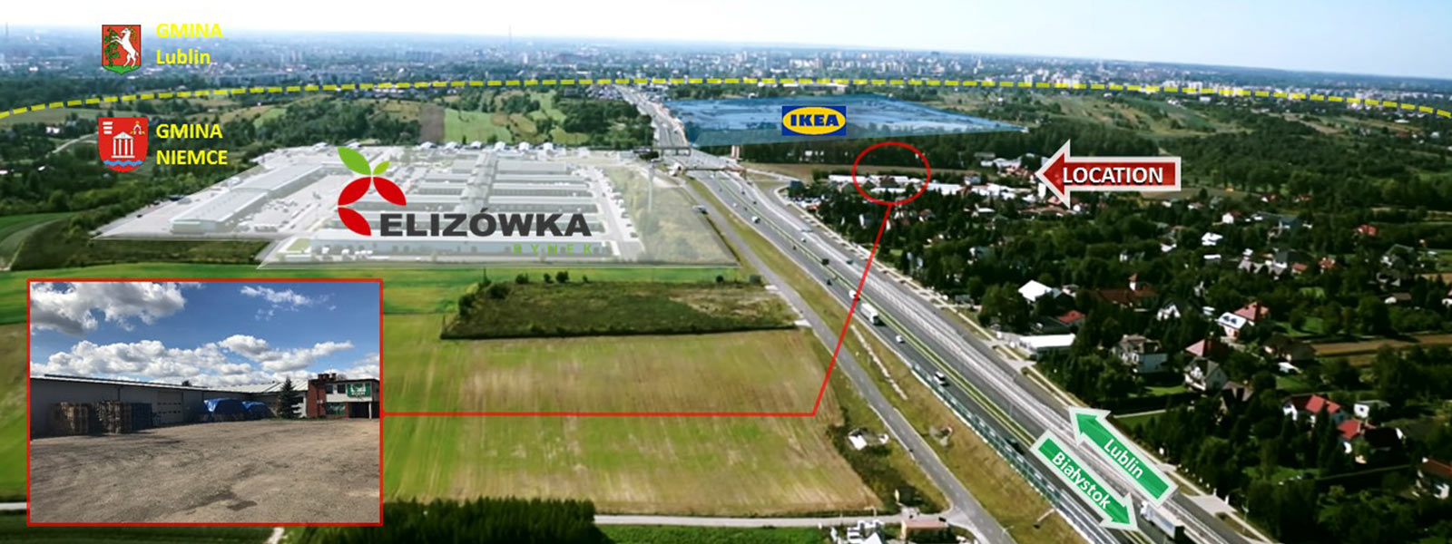 Elizówka gmina Niemce   - TNGS Tomasz Karman - Biuro Obsługi Inwestora - Lublin
