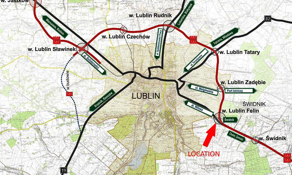 Lublin-Świdnik obok Specjalnej Strefy Ekonomicznej   - TNGS Tomasz Karman - Biuro Obsługi Inwestora - Lublin