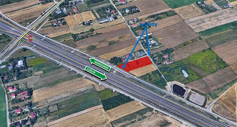 powierzchnia 4 843m<sup>2</sup> panieńszczyzna woj. lubelskie - TNGS Tomasz Karman - Biuro Obsługi Inwestora - Lublin