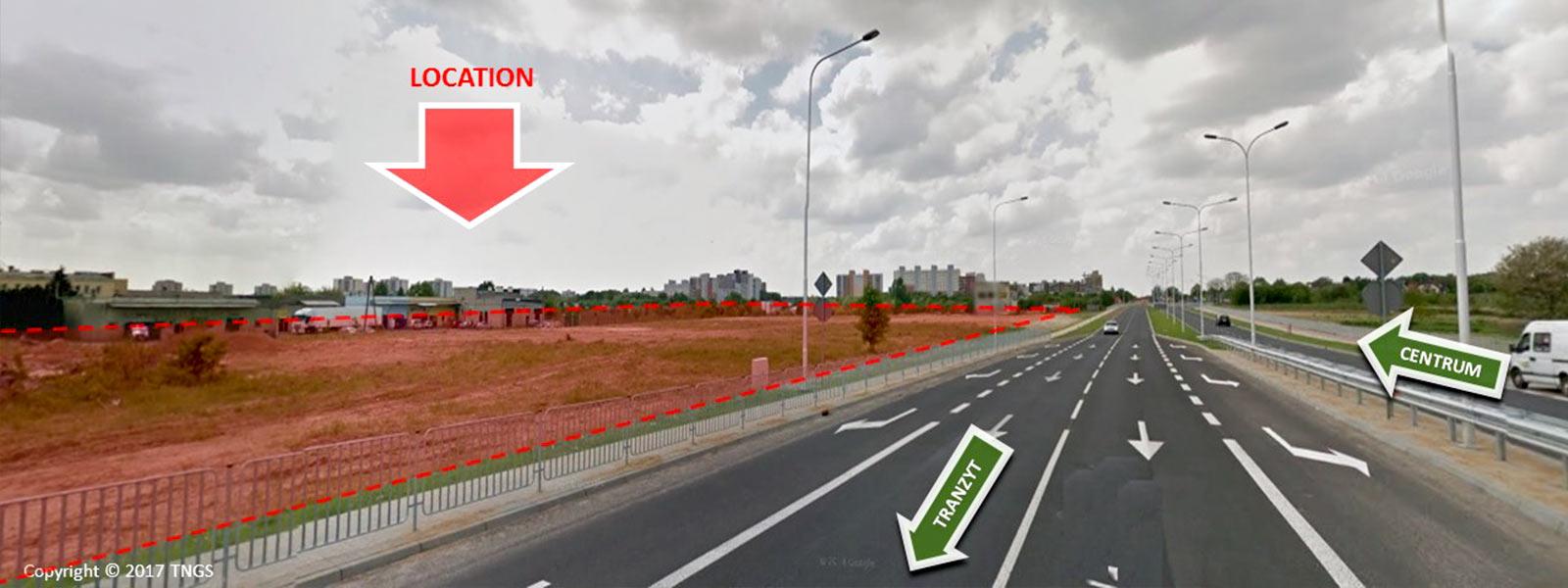 Lublin ul. Stefczyka przy IKEA   - TNGS Tomasz Karman - Biuro Obsługi Inwestora - Lublin