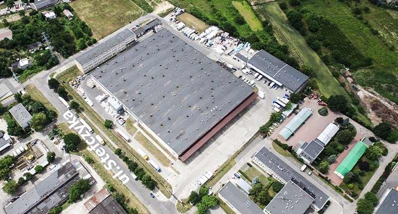 hala magazynowa Lublin Bursaki, ul. Stefczyka - TNGS Tomasz Karman - Biuro Obsługi Inwestora - Lublin