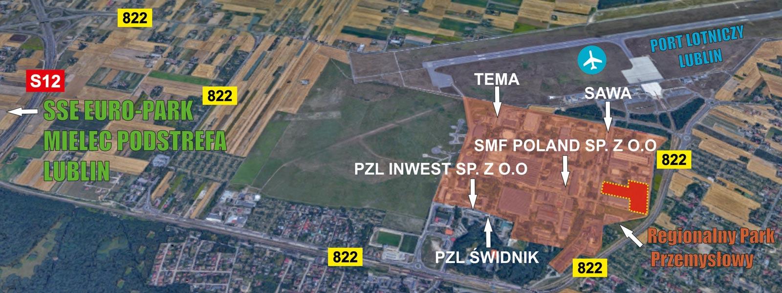 Świdnik przy SSE Euro-Park Mielec Teren inwestycyjny Świdnik - TNGS Tomasz Karman - Biuro Obsługi Inwestora - Lublin