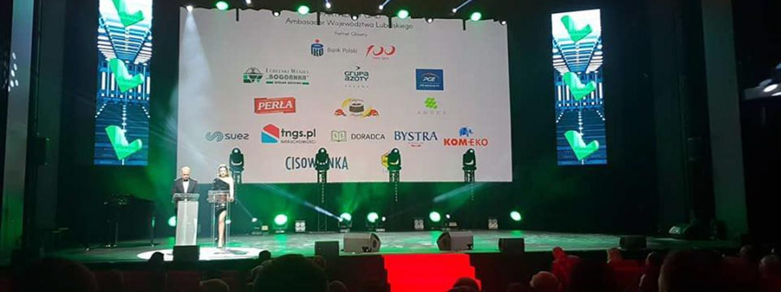 XX Gala Ambasador Województwa Lubelskiego - TNGS Tomasz Karman - Biuro Obsługi Inwestora - Lublin
