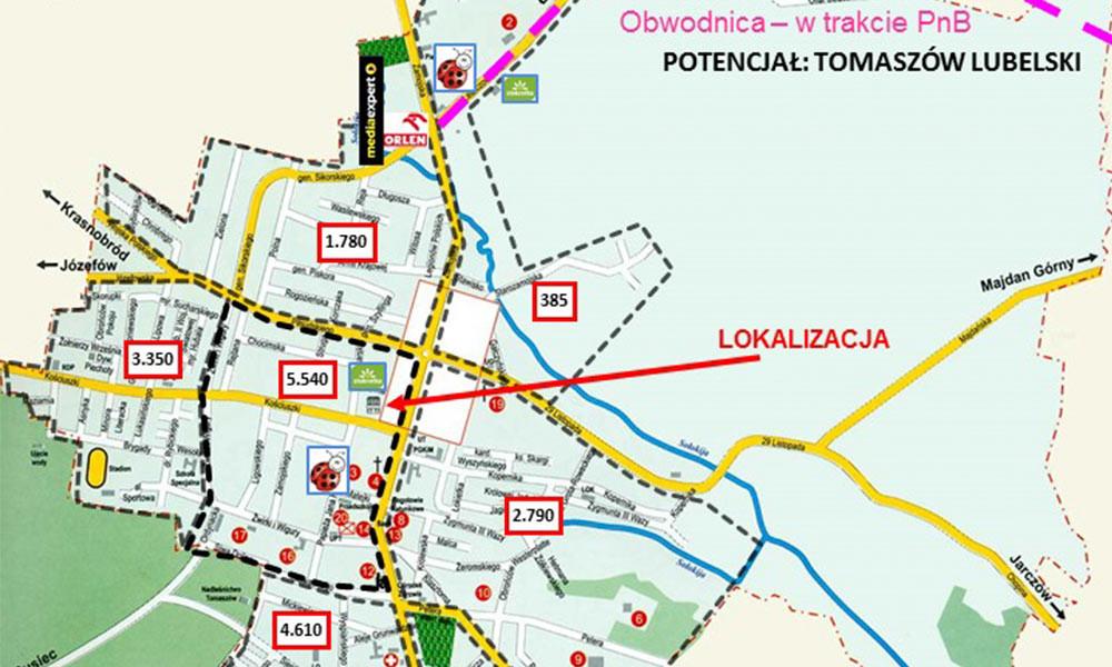 Tomaszów Lubelski Hotel IBIS   - TNGS Tomasz Karman - Biuro Obsługi Inwestora - Lublin