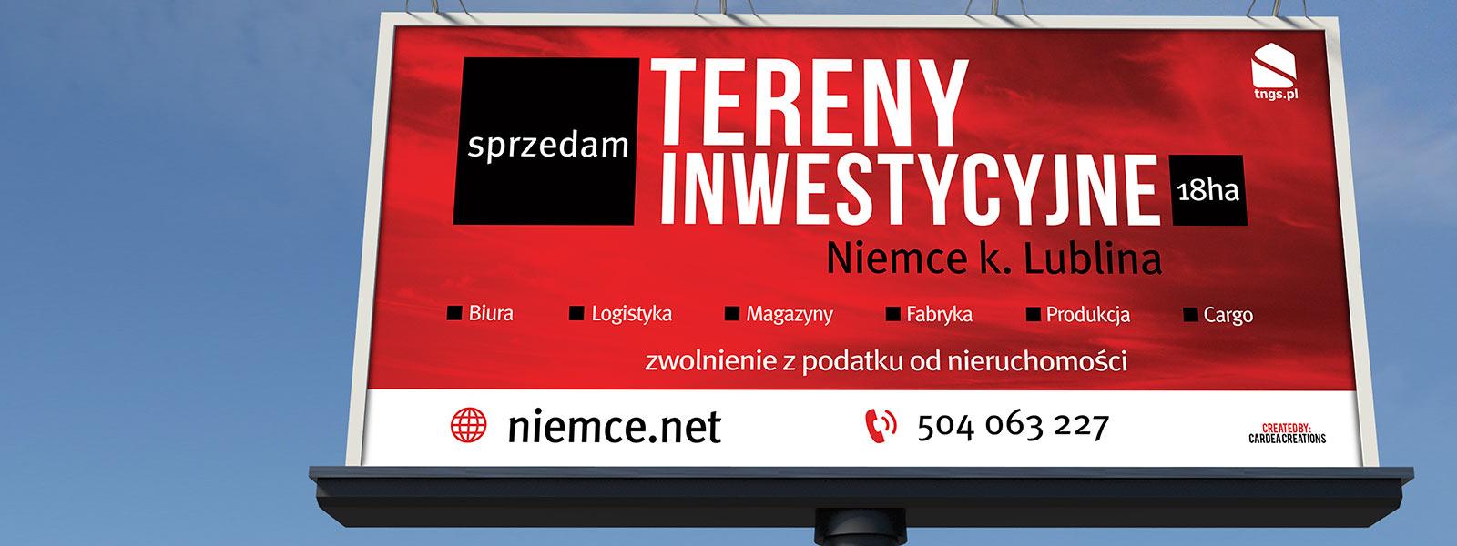 Niemce ul. Przemysłowa   - TNGS Tomasz Karman - Biuro Obsługi Inwestora - Lublin