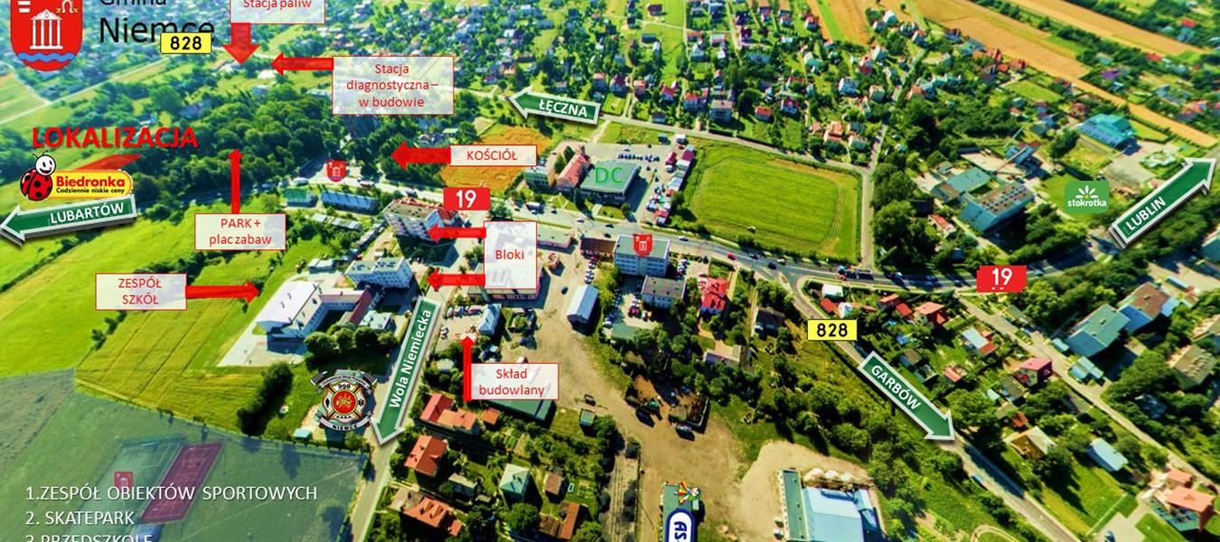niemce ul. Parkowa 2 Retail Park DK19 - TNGS Tomasz Karman - Biuro Obsługi Inwestora - Lublin