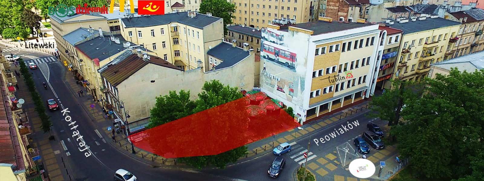 LUBLIN Śródmieście, ul. Peowiaków   - TNGS Tomasz Karman - Biuro Obsługi Inwestora - Lublin