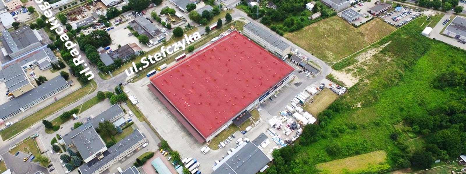 Lublin Bursaki, ul. Stefczyka 1306 m2 - TNGS Tomasz Karman - Biuro Obsługi Inwestora - Lublin