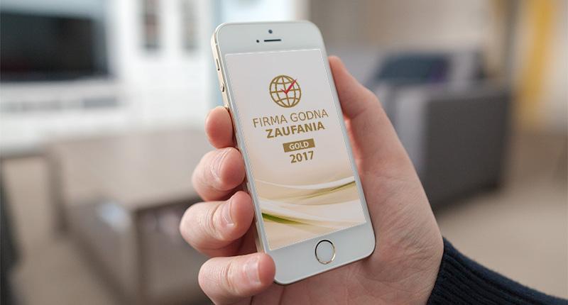 Firma Godna Zaufania 2017 Gold - TNGS Tomasz Karman - Biuro Obsługi Inwestora - Lublin