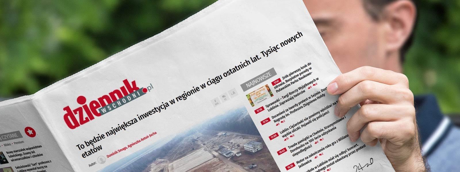Największa inwestycja w regionie - TNGS Tomasz Karman - Biuro Obsługi Inwestora - Lublin